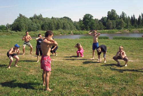 AG karate vasaras nometne Kalni 2007